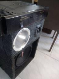 Vendo caixa de som com equalizador