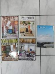 Lote Revistas Casa e Jardim Decoração