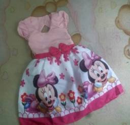Vestido Minnie Vários Tamanhos