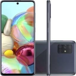 Celular Samsung A71 preto