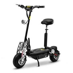 Patinete Elétrico Scooter Two Dogs 800w 36v ? 3 Baterias<br><br>
