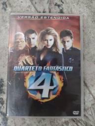 DVD Quarteto Fantástico em ótimo estado
