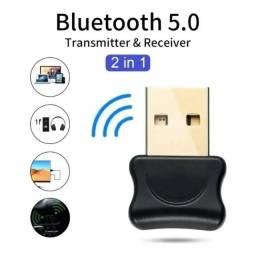 7798 - Adaptador Bluetooth 5.0 Dongle PC e Notebook