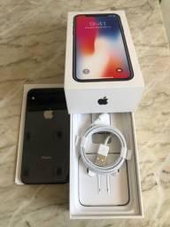 IPhone X 256gb na caixa tds acessórios