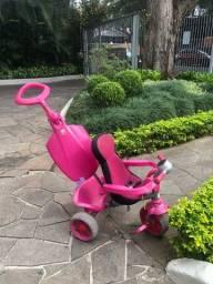 Triciclo infantil smart comfort rosa