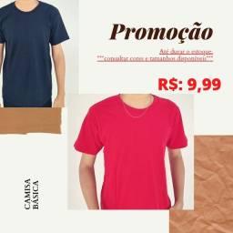 Promoção de camisa básica