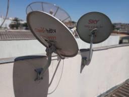 Instalação de antenas em geral