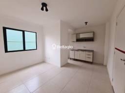 Apto 1 dormitório novo, semi mobiliado,  garagem, churrasqueira, elevador