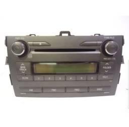 RADIO ORIGINAL COROLLA SEMI NOVO