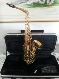 Saxofone Alto Vintage Schiller Elite V - Antique Gold