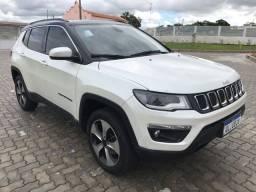 Jeep Compass 2018 Diesel 2.0 TDI Longitude 4WD (Aut) Branco Perolizado