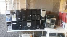 Lote gabinetes usados sem fonte
