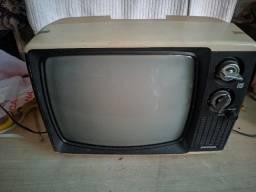 Televisão antiga, uhf/vhf - funcionando