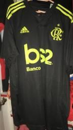 Camisa flamengo III G etiqueta