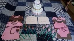 Kit Decoração e Lembrancinhas Chá de Bebê!