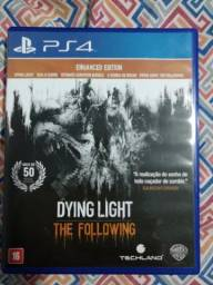Jogo de ps4 dying light the following, valor 56,00