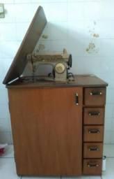 Máquina de costura singer+ gabinete + Espelho