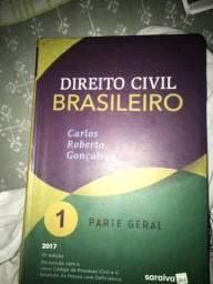 3 livros Carlos Roberto Gonçalves direito civil