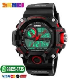 73d5e419134 Relógio esporte skmei original shock prova d água 50 metros