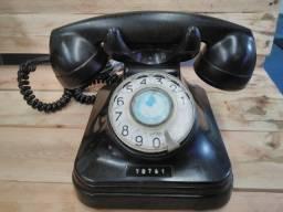 Telefone Antigo - Funcionando - Em Ótimo Estado - Anos 50