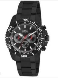 06f66f32b4d Relógio Invicta Pro Driver Chrono Preto IP Aço Inoxidável