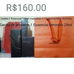 0753c7c016d Natura combo Essencial 02 perfumes e ganha presente 160.00
