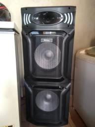 Caixa Acústica PCX15000 PR 1500W RMS Philco - Bivolt