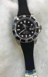 81b24b32125 Relógio rolex submariner borracha