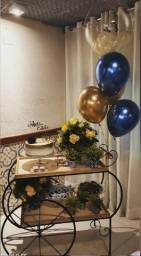 Kit carrinho Gourmet - Aluguel