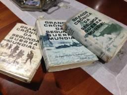 Grande Crônica Da Segunda Guerra Mundial - 3 Volumes
