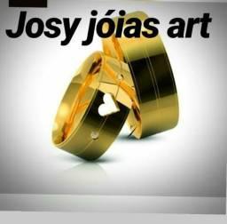 JOSY JÓIAS.aliança de moeda antiga