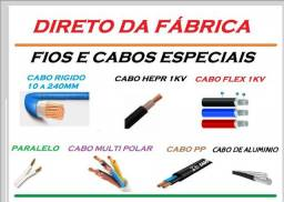 Fios e Cabos Elétrico cobre e aluminio Duplex 16mm R$ 3,50 o metro