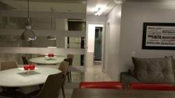 Apartamento com 3 dormitórios semi-mobiliado à venda, 61 m² por r$330.000,00 - jardim itu