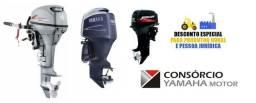 Motor de popa Yamaha, Mercury e Hidea novo