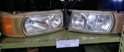 Conjunto de farol LED dianteiro Scania