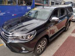 Toyota Hilux Cd Srx A 4fd 2016 ùnico Dono Automática Preta Diesel