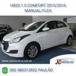 Hyundai HB20 1,0 Comfort 2015/2016
