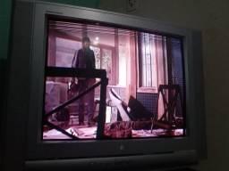 TV tubo com conversor