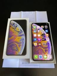 IPhone XS Max 512GB Branco bem conservado completo divido no cartão até 12X
