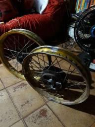 Roda titan freio a disco