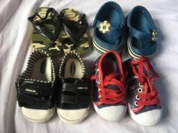 Vende sapatos bebê
