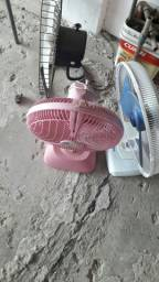 Ver ventilador o Grande tá bom e os dois menor ter que ajeitar