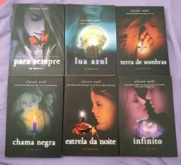 """Coleção de livros da série """"Os imortais"""" da Alyson Noel"""