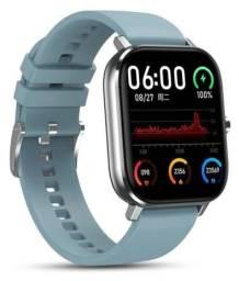 Relógio Inteligente Smartwatch P8 Pro Azul Faz e Recebe Chamada