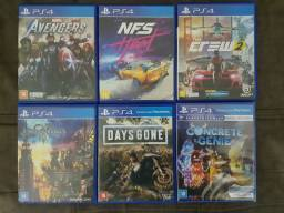 Need for speed Heat e outros jogos PS4