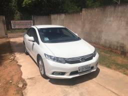 Honda Civic LXR 2.0 branco 13/14
