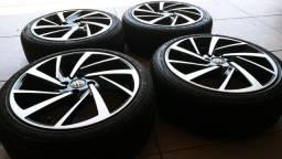 Rodas 17 Volkswagen com pneu