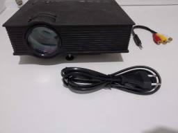 Mini Projetor Unic Uc46 Wi Fi 130pol 1200 Lumen Android Youtube Hdmi