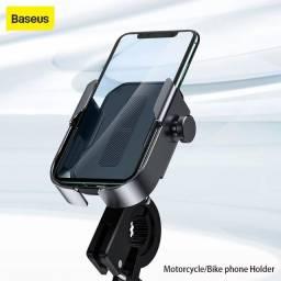 Suporte De Celular Bike Bicicleta Moto Baseus - Novo