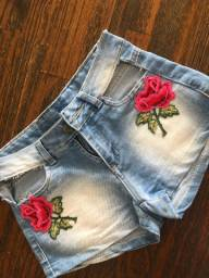 Short flor costumizado